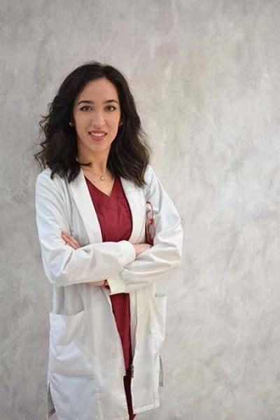 Η γιατρός κ. Αγγελοπούλου